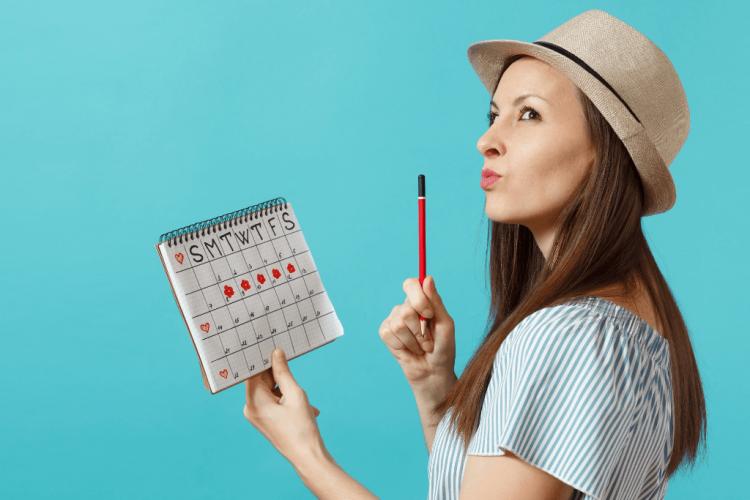 Bajo la Carpa Roja - ¿Cómo sé en qué fase de mi ciclo menstrual estoy?